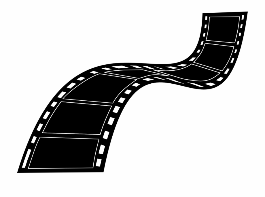 Video tapes on fire clipart banner black and white download Camera Movie Film Strip Reel Cinema Entertainment - Video ... banner black and white download