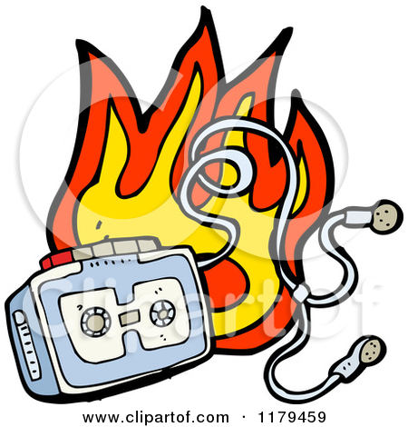 Video tapes on fire clipart banner transparent Cassette Tape Clipart | Free download best Cassette Tape ... banner transparent