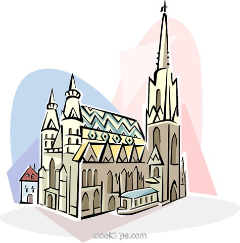 Vienna clipart png royalty free download Austria Vienna Stephansdom Royalty Free Vector Clip Art ... png royalty free download