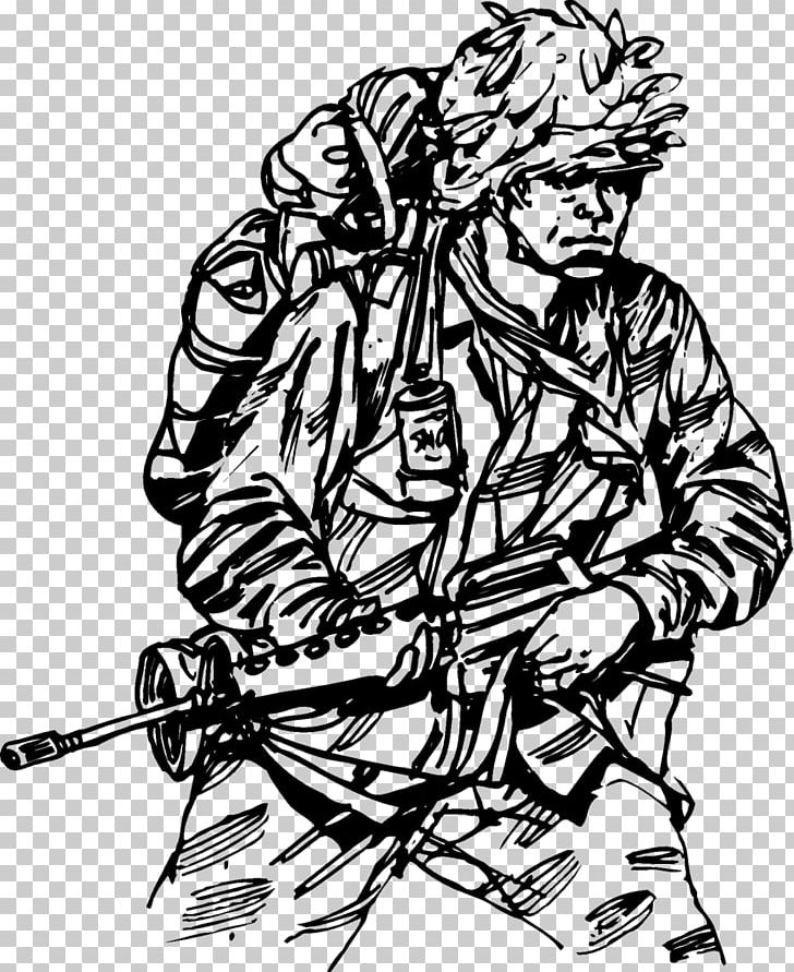Vietnam clipart black and white vector black and white stock Vietnam War Drawing Soldiers At War South Vietnam PNG ... vector black and white stock