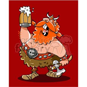 Viking beer clipart clip art freeuse download cartoon viking warrior drinking beer clipart. Royalty-free clipart # 391455 clip art freeuse download
