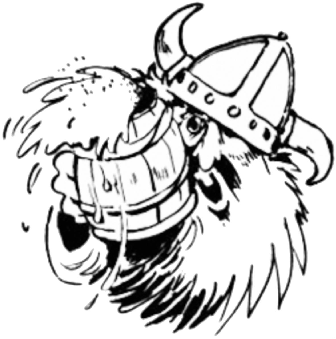 Viking beer clipart svg transparent Crazy Viking | Zythophile svg transparent