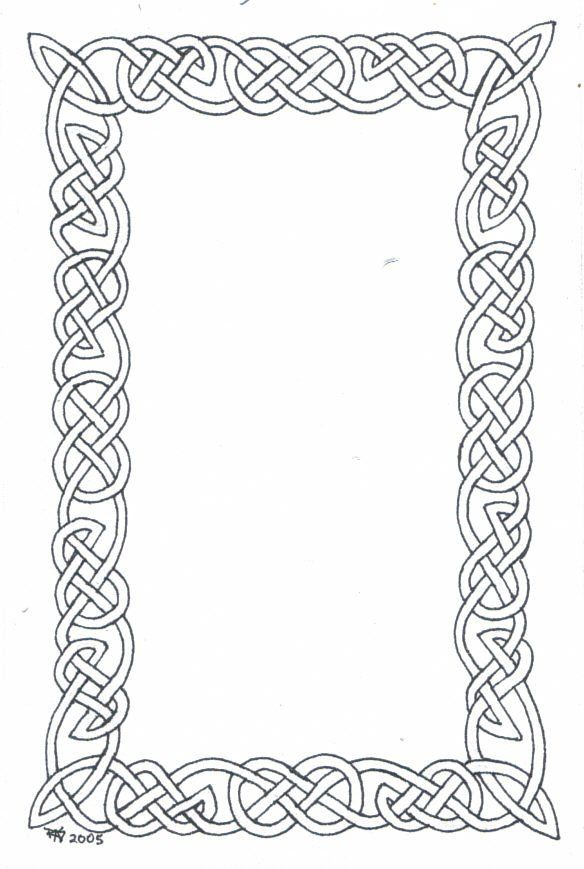 Viking borders clipart graphic freeuse download A Small Knotwork Border by robertsloan2 on deviantART | Clip ... graphic freeuse download