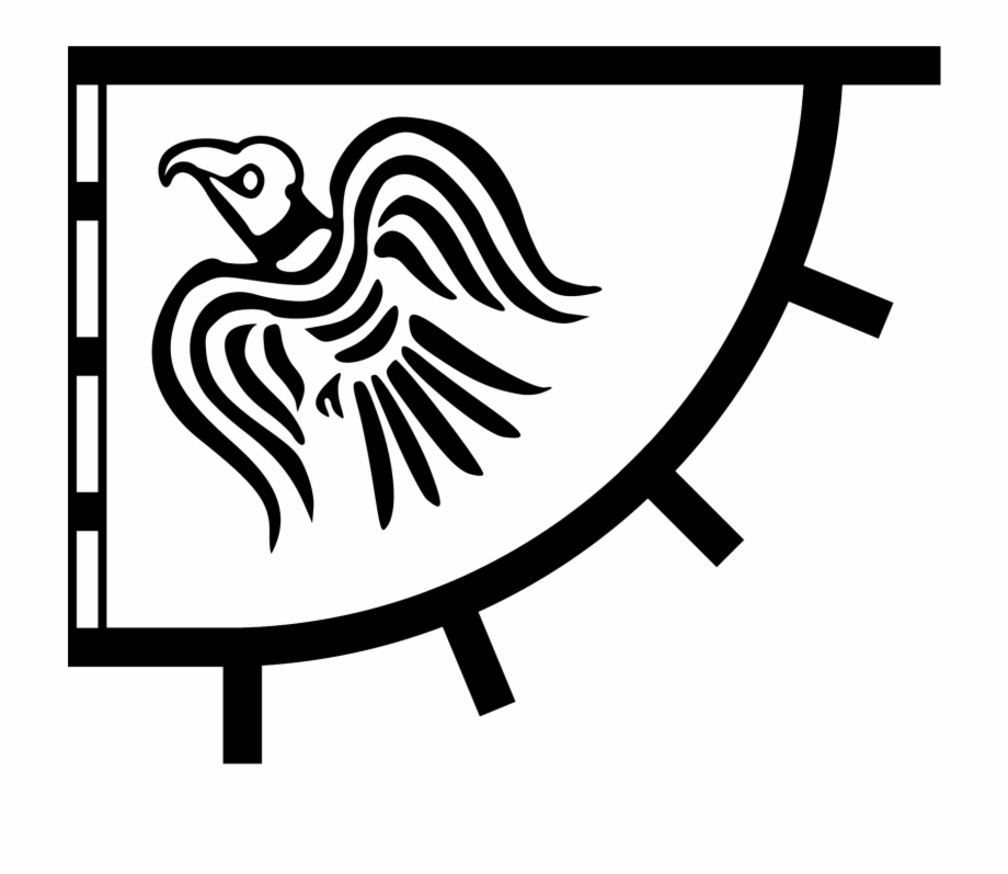 Viking flag clipart jpg free House Of Ivar Banner - Viking Raven Flag, Transparent Png ... jpg free