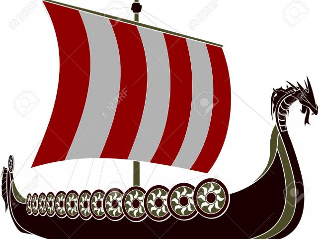 Viking flag clipart clip transparent stock Free Viking Ship Clipart, Download Free Clip Art on Owips.com clip transparent stock