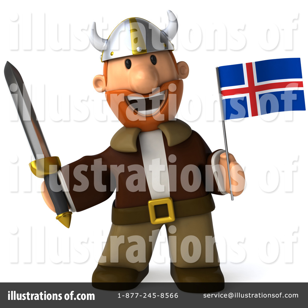 Viking flag clipart vector black and white Viking Clipart #1072045 - Illustration by Julos vector black and white