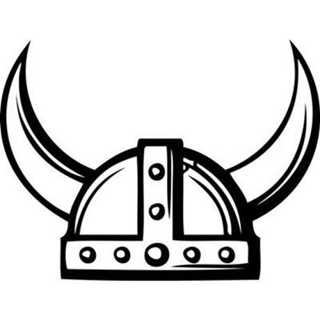 Viking hat clipart free banner transparent Viking Clipart Black And White | Free download best Viking ... banner transparent