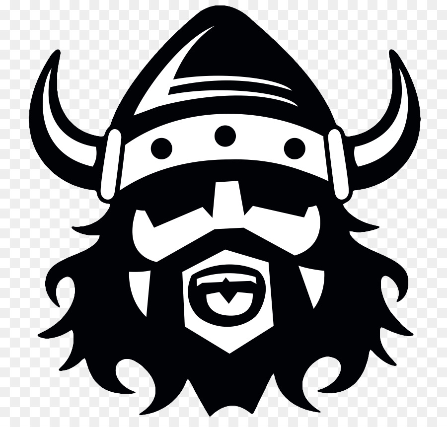 Viking head clipart png transparent stock Black Line Background clipart - Sticker, Black, Head ... png transparent stock