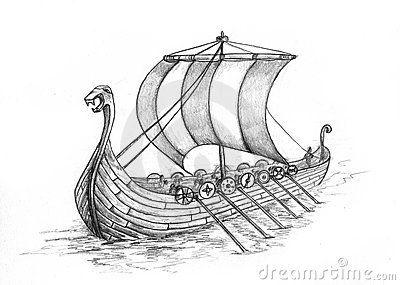 Viking ship on land clipart picture transparent library Viking Stock Illustrations, Vectors, & Clipart – (2,847 ... picture transparent library