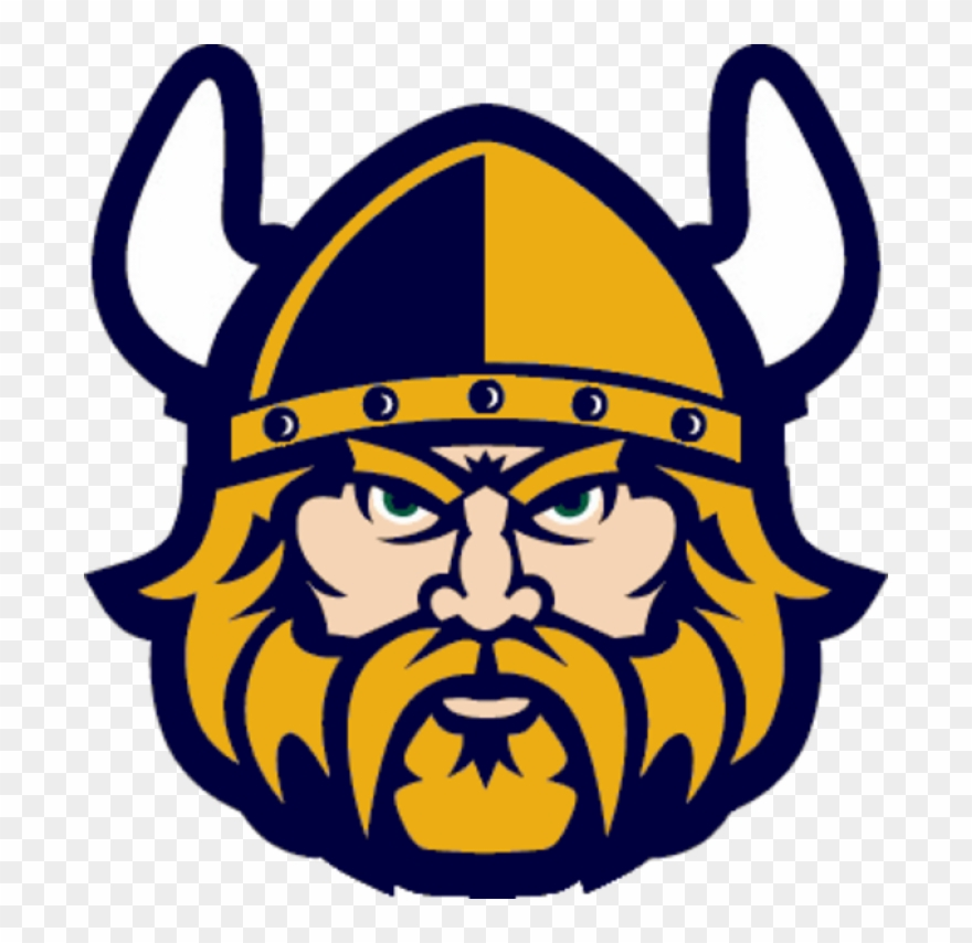Vikings head clipart picture royalty free stock Free Viking Clipart - Cleveland State Vikings Logo - Png ... picture royalty free stock