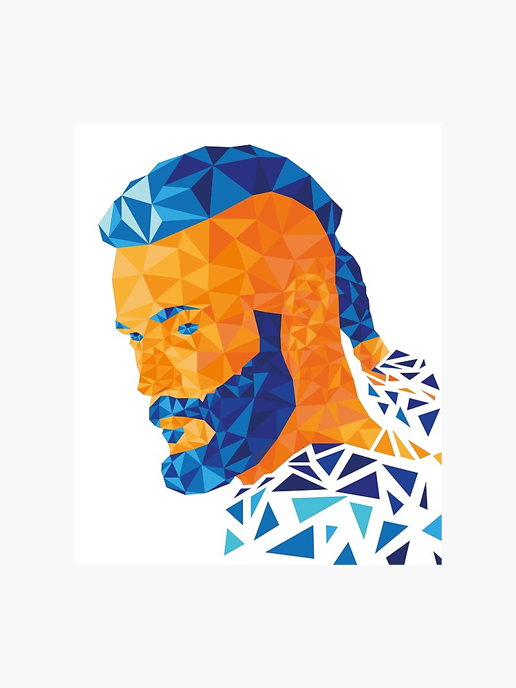 Viking ragnar clipart clipart download Ragnar Lothbrok Low Poly - Vikings series | Photographic Print clipart download