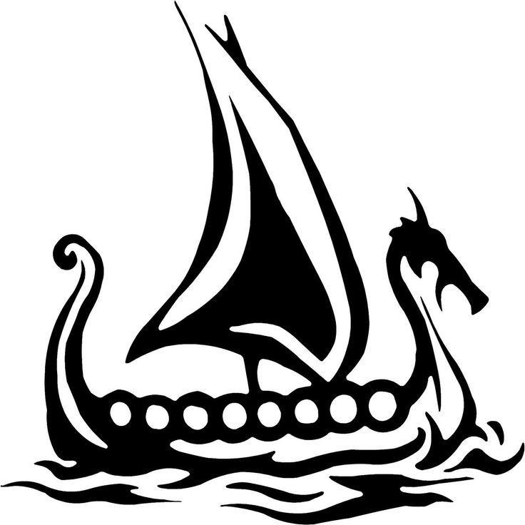 Viking ship on land clipart clip transparent download Viking Ship Tattoo on Pinterest | Viking Symbols, Norse ... clip transparent download
