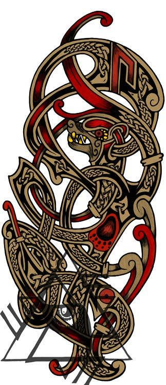 Viking tatto clipart freeuse download Recent Custom Works: Some Norse Tattoo Designs ... freeuse download
