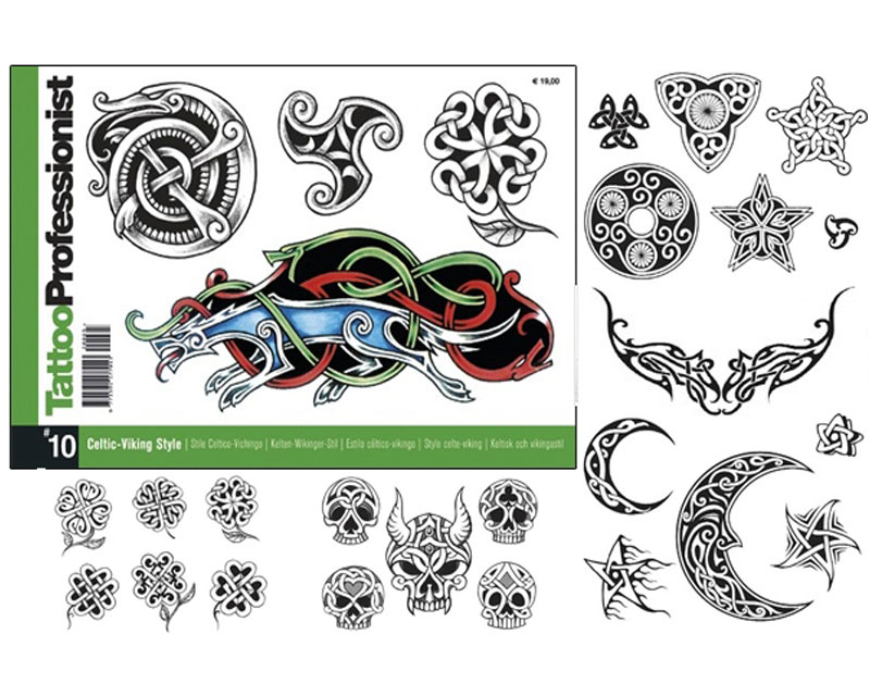 Viking tatto clipart clipart free stock Pro Celtic Viking Flash Book #10 - Professionist Flash Books ... clipart free stock