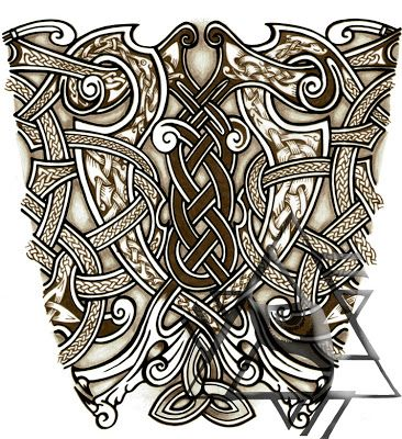 Viking tattoo clipart vector library download old+norse+tattoo+designs | Recent Custom Works: Some Norse ... vector library download