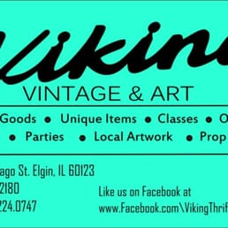 Viking thrift and artwork graphic library library Viking Thrift & Artwork - 90 fotos - Segunda mano - 160 E Chicago ... graphic library library
