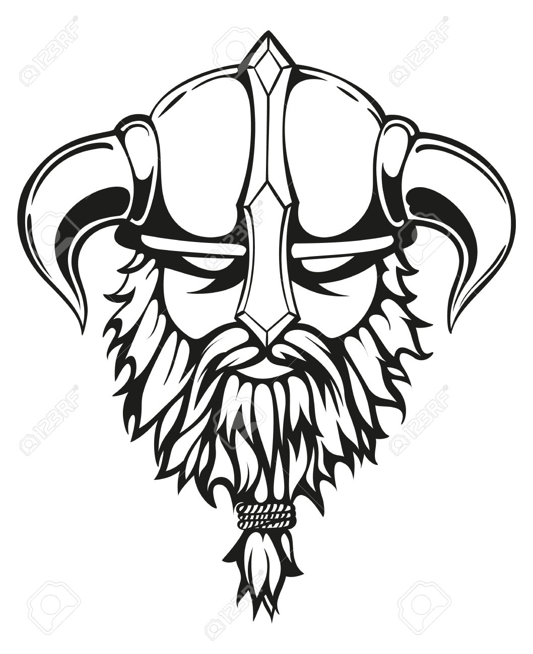 Viking top element clipart black png transparent download Viking Clipart Black And White | Free download best Viking ... png transparent download