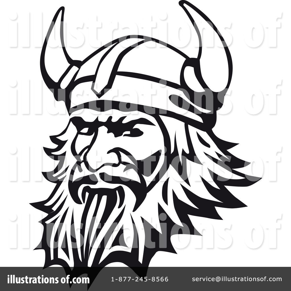 Viking top element clipart black transparent library Viking Clipart #1062334 - Illustration by Vector Tradition SM transparent library