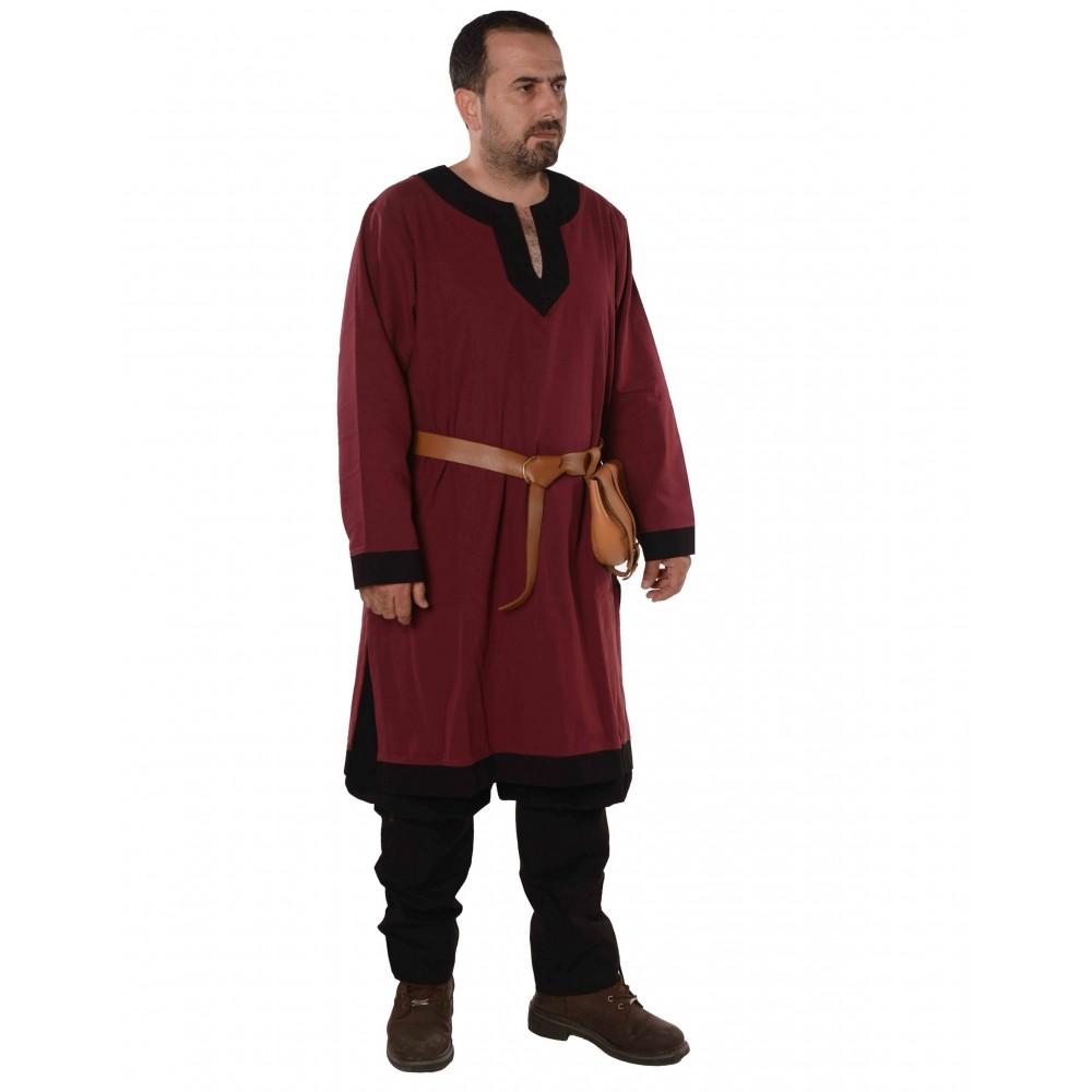 Viking tunic trim clipart clipart library library ARTHUR Medieval Viking Renaissance Tunic - Burgundy/ Black clipart library library
