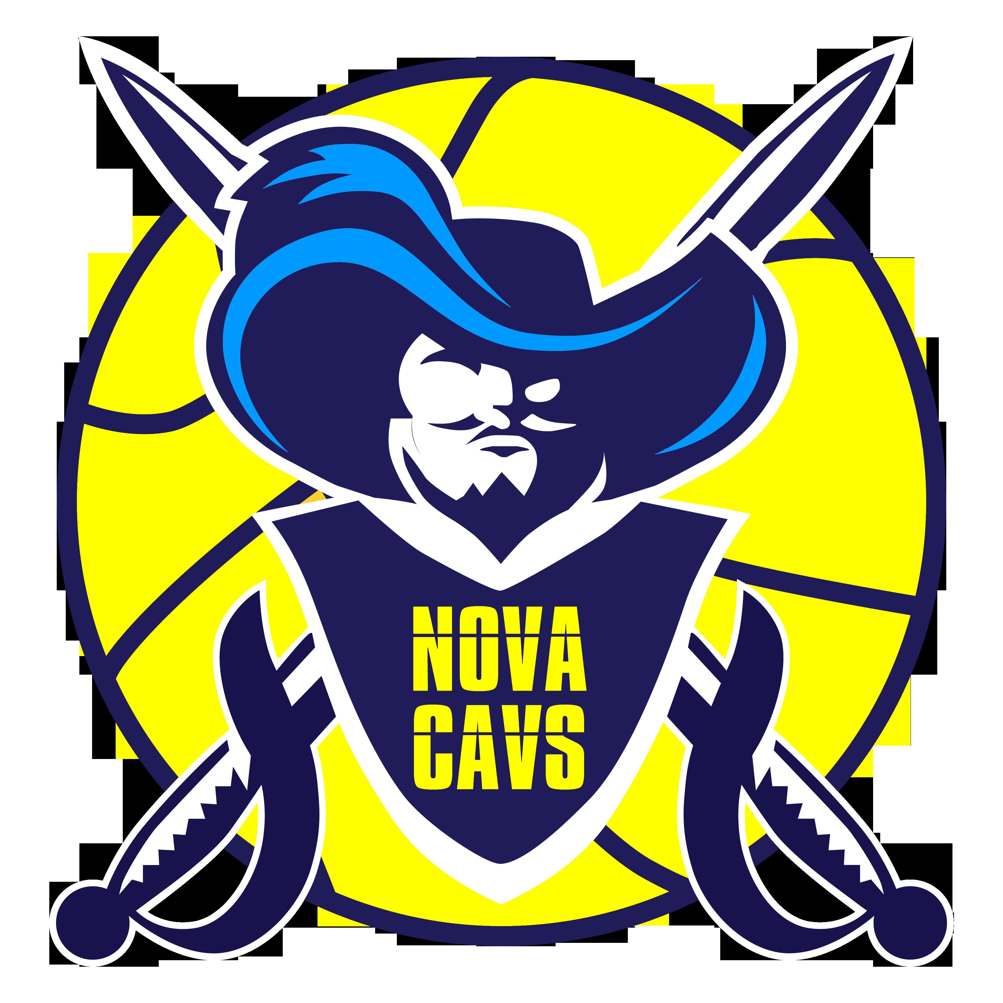 Viking vs cavalier basketball clipart clip free NOVA Cavaliers clip free