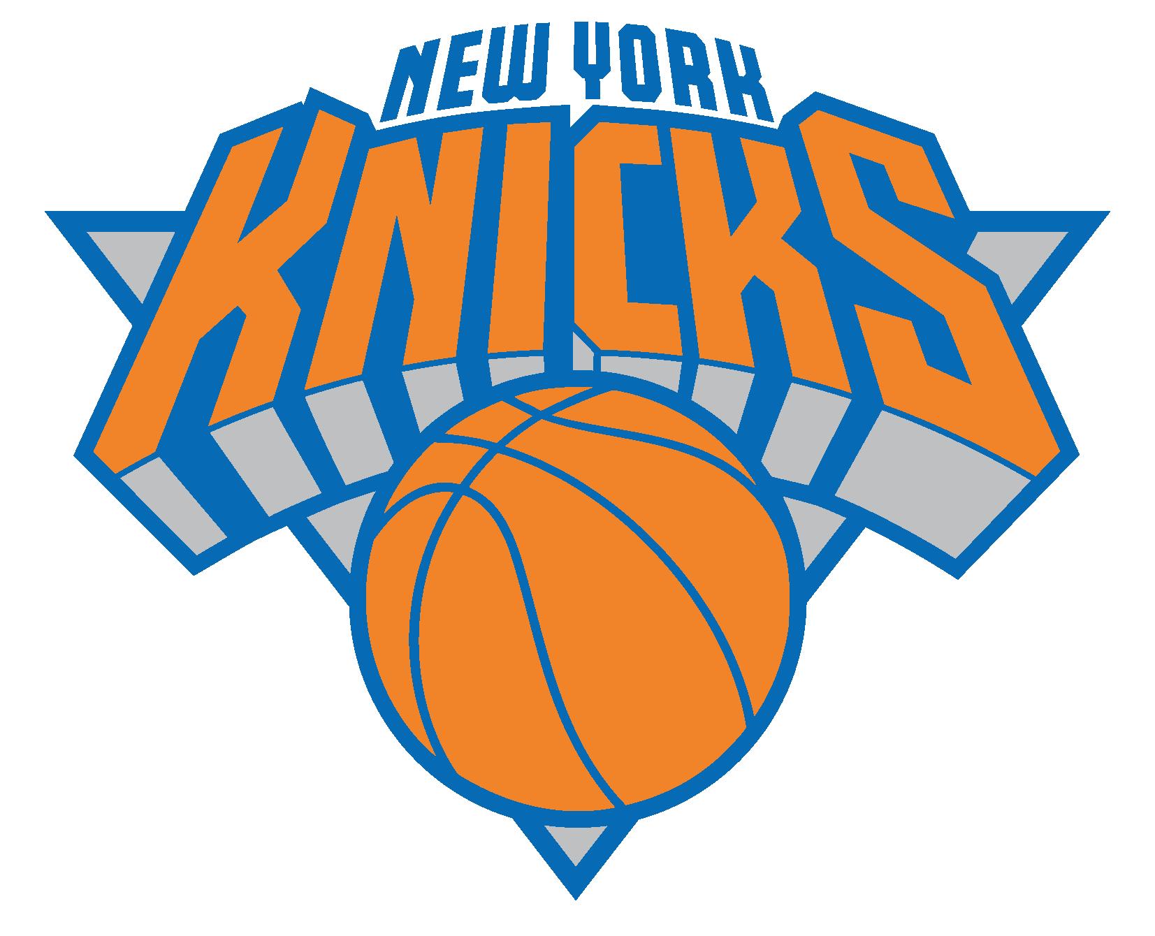 Viking vs cavalier basketball clipart vector black and white stock Knicks Logo [New York] Vector | NBA Team Logos | Pinterest | NBA vector black and white stock
