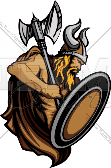 Viking warrior shield clipart svg freeuse stock Viking Logo Clipart Image. Easy to Edit Vector Format. svg freeuse stock