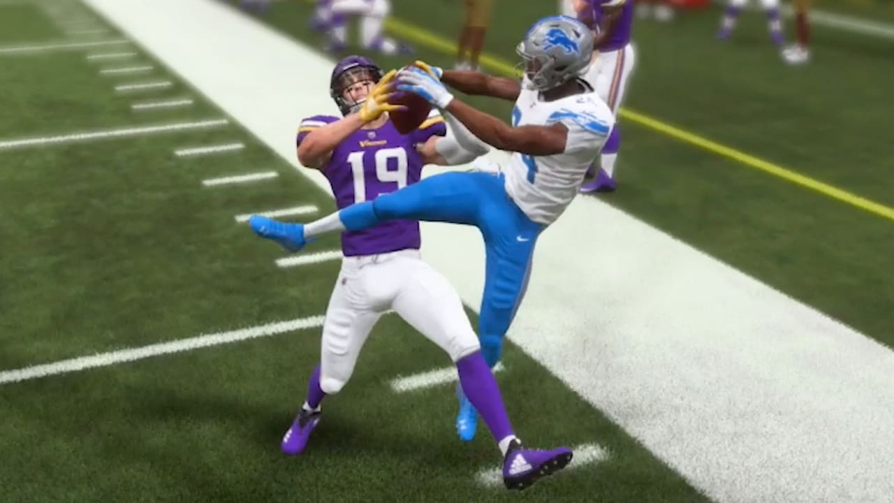 Vikings wide receiver clipart graphic freeuse library Vikings Players Guess and React to Madden Ratings for 2019 graphic freeuse library