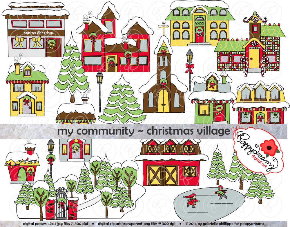 Village border clipart clipart black and white Free Village House Cliparts, Download Free Clip Art, Free ... clipart black and white