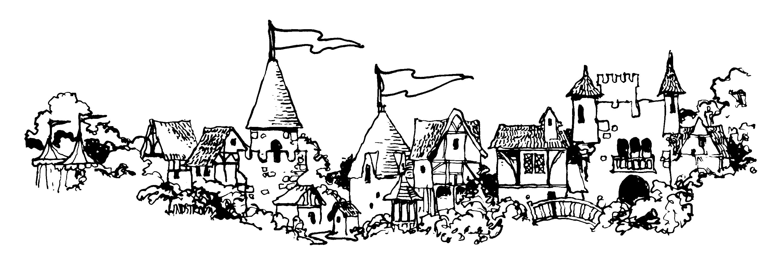 Village border clipart vector library library Villages Clip Art   Clipart Panda - Free Clipart Images vector library library