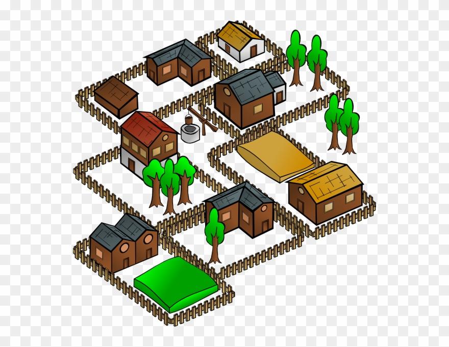 Village clipart pictures jpg free Village House Clipart - Model Of Village Palampur - Png ... jpg free