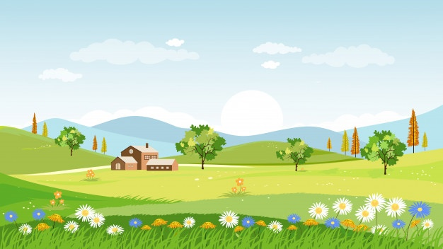 Village in spring clipart banner freeuse library Village Vectors, Photos and PSD files | Free Download banner freeuse library