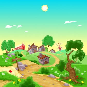 Village in spring clipart clip art royalty free Village Vectors, Photos and PSD files | Free Download clip art royalty free