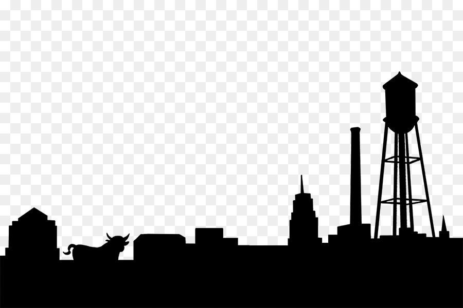 Village skyline clipart vector stock Skyline Silhouette City High-rise building Photography ... vector stock