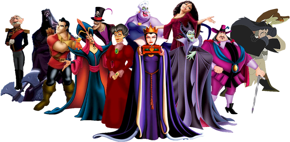 Villain clipart tranparent png black and white library HD Disney Villains Clipart - White And The Seven Dwarfs ... png black and white library