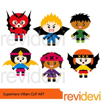 Villian clipart graphic freeuse stock Superhero Villain clip art graphic freeuse stock