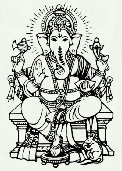 Vinayagar clipart black and white clipart free download god vinayagar , Free png download - requitix.io clipart free download