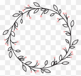 Vine circle border clipart png freeuse stock Berries Leaves Vines Wreath Swirls Decoration Icon - Circle ... png freeuse stock