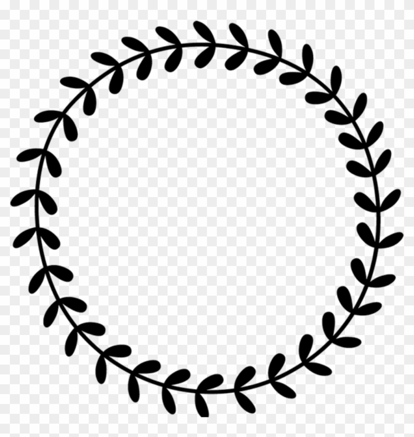 Vine circle border clipart png library download Border Frame Leaves Vines Wreath Circle Round Border - 2 ... png library download