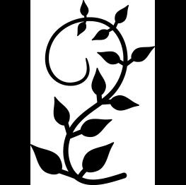 Vine clipart silhouette transparent picture Vine Silhouette | SVG | Vines, Vine design, Vine line picture