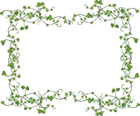 Ivy frame clipart vector freeuse stock decorative ivy vine | Name: Vines Frame Vector | Assorted ... vector freeuse stock