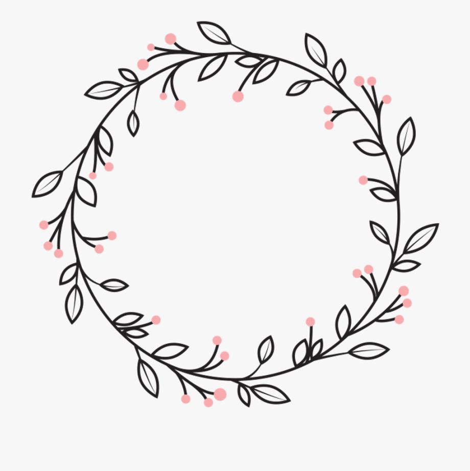 Vine wreath clipart jpg freeuse download Vine Wreath Clipart Black And White #118355 - Free Cliparts ... jpg freeuse download