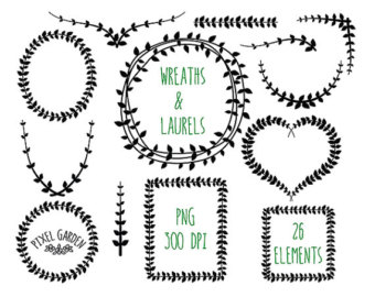 Vine wreath clipart jpg clipart black and white Vine wreath clipart jpg - ClipartFest clipart black and white