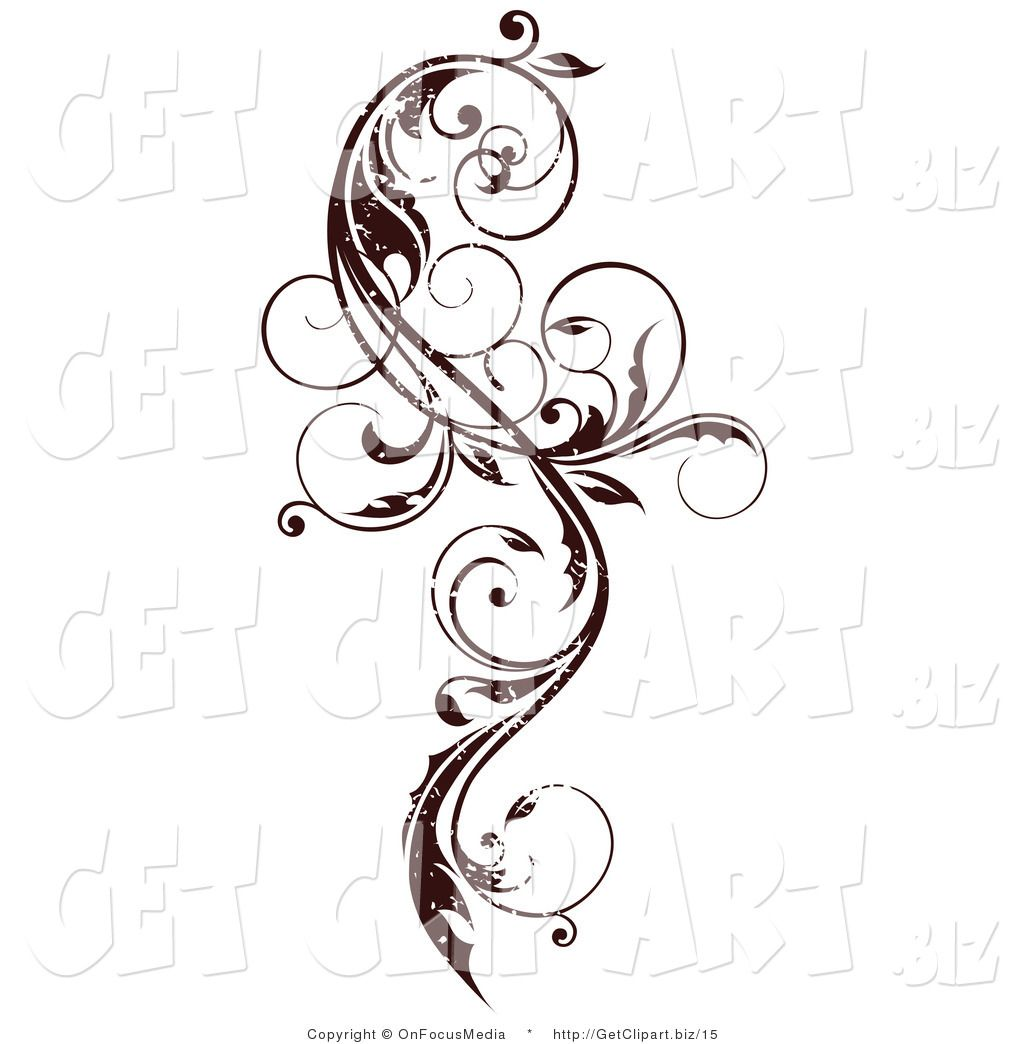 Vines and scrolls clipart png royalty free stock Curly Vine Scroll Design | Art | Scroll tattoos, Vine ... png royalty free stock