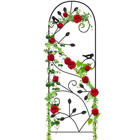 Vining flowers clipart free download Amagabeli Garden Trellis for Climbing Plants 46\