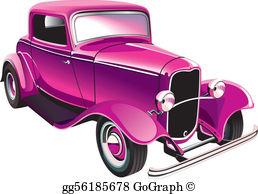 Vintag ecar clipart vector transparent stock Vintage Car Clip Art - Royalty Free - GoGraph vector transparent stock