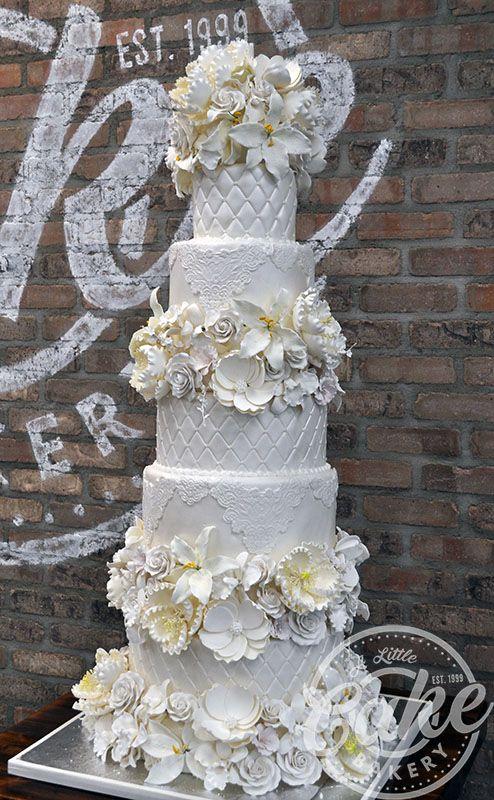 Vintage 3 tier 60 anniversary cake clipart png svg download A Little Cake | Wedding Cakes - Park Ridge, NJ svg download