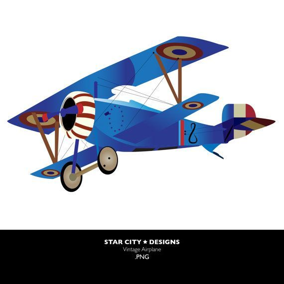 Vintage airplane pilot clipart transparent graphic Vintage Airplane Clip Art Clipart Vector Art Graphics For ... graphic