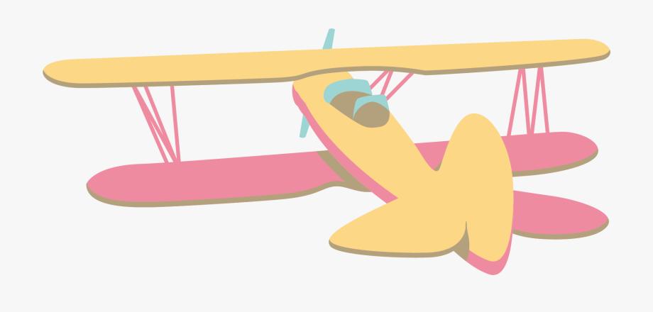 Vintage airplane pilot clipart transparent svg library library Airplane Aircraft Clip Art Vintage Cartoon Transprent ... svg library library