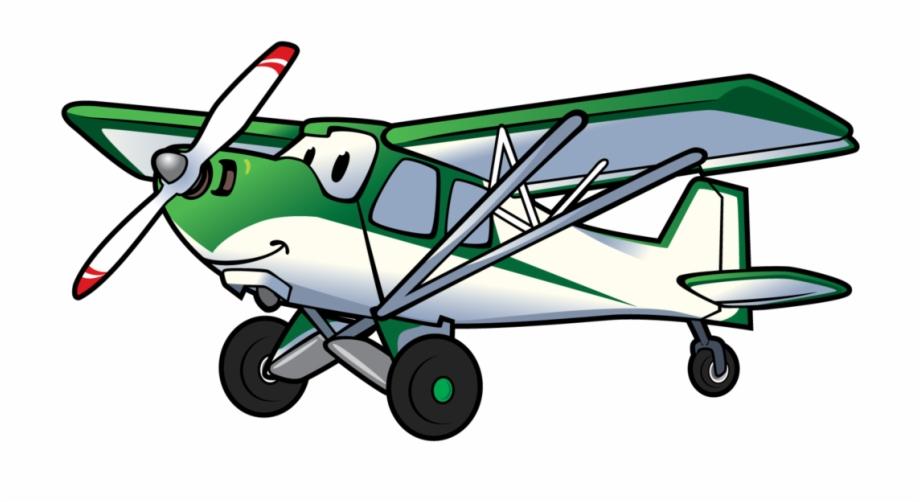 Vintage airplane pilot clipart transparent clip art download Cartoon Airplane Backcountry Pilot With Cartoon Plane ... clip art download
