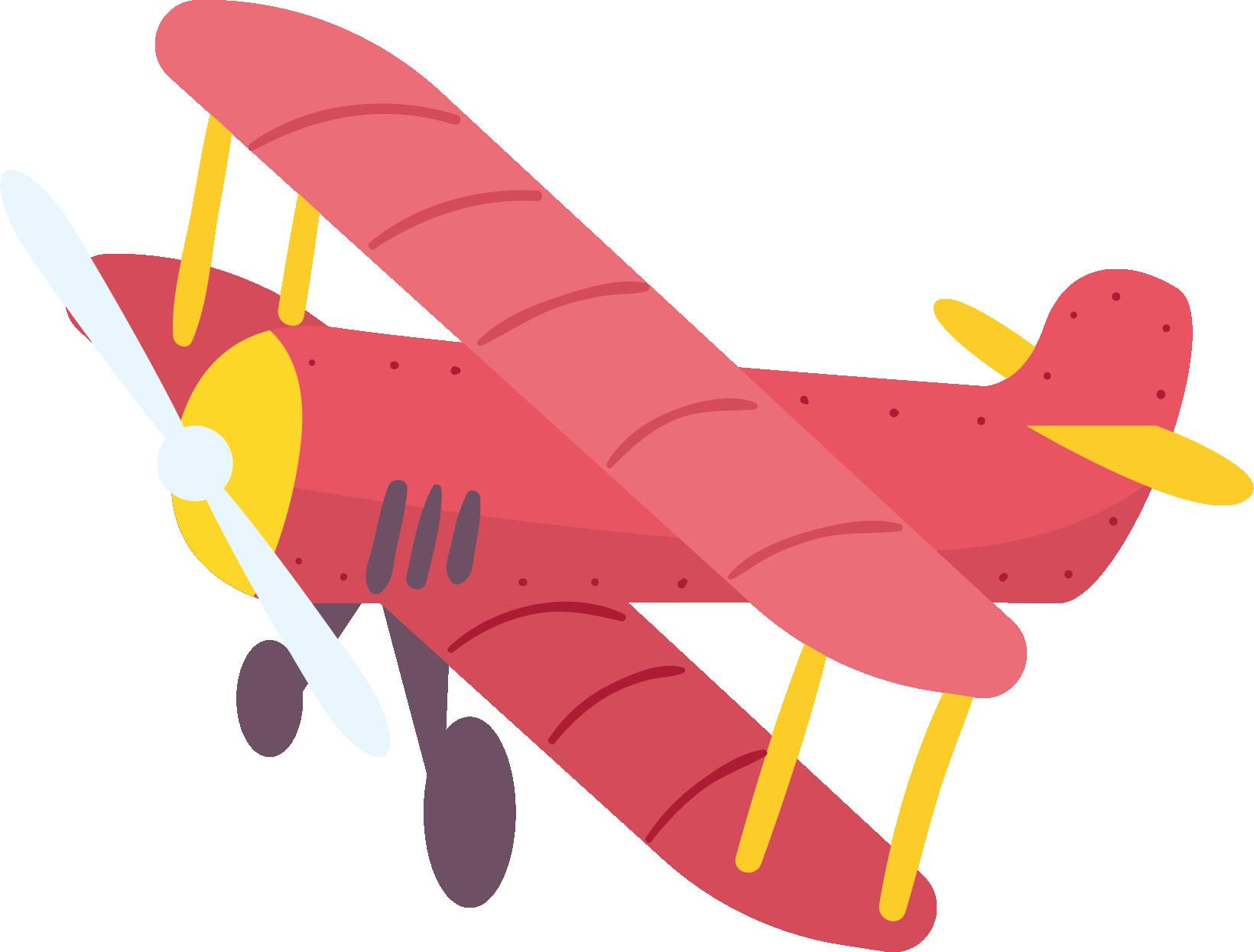 Vintage airport clipart transparent clip art Airplane Aircraft Cartoon Illustration - The falling plane ... clip art